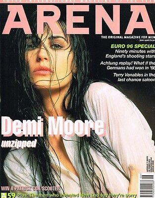 ARENA Magazine #59 DEMI MOORE David Seaman EMMA BLOCKSAGE Terry Venables EURO'96