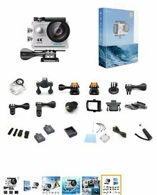 Brand new EKEN H9 4K ULTRA ACTION CAMERA.