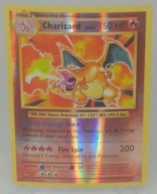 RARE~ Pokemon XY Evolutions CHARIZARD 11/108 (REVERSE HOLO) Card ~LOOK!