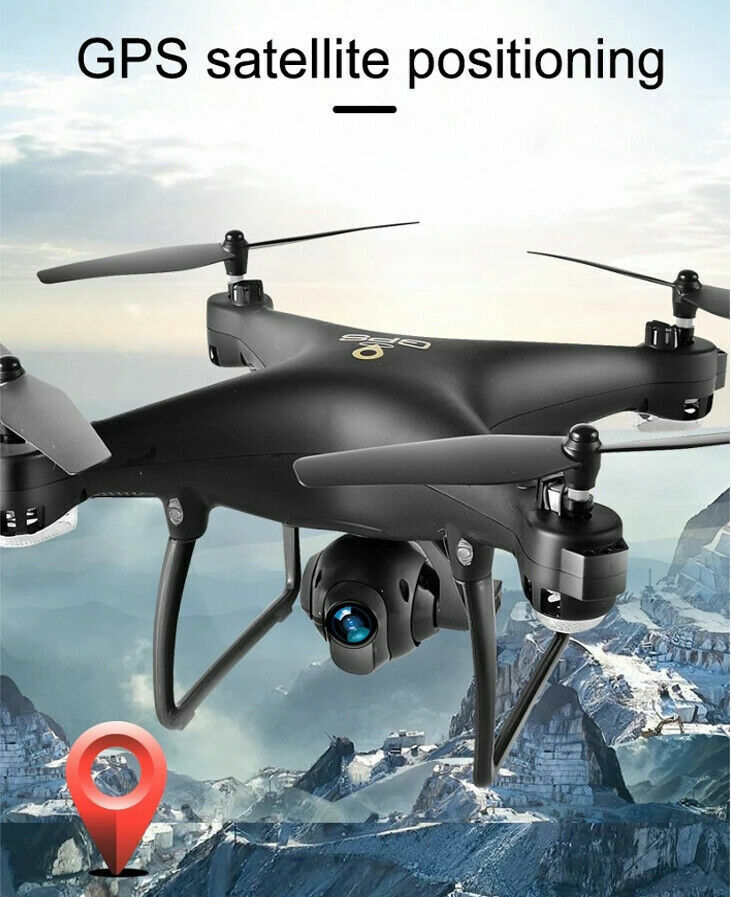 Professional GPS RC Drone with 1080p HD Camera FPV RTH Quadcotper Follow Me
