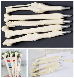 5X Novelty Creative Ball point Pen Bone Shape Nurse Doctor Students Stationery B
