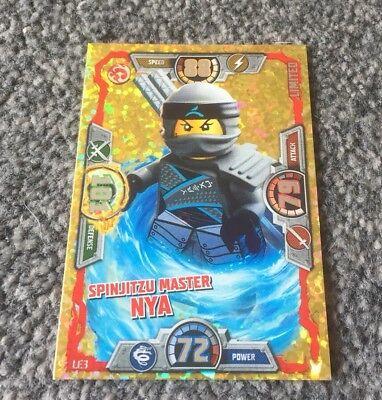 LEGO NINJAGO SERIES 3 SPINJITZU MASTER NYA LIMITED EDITION CARD LE3