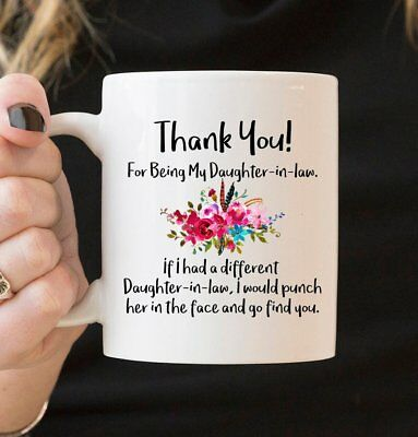 For Daughter-In-Law - Family Mug, Mug for Daughter-in-law, Gift Ideas - Family Ideas For Halloween