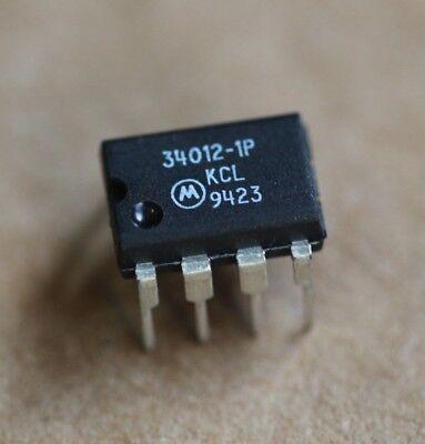 MC34012-1P Telephone Tone Ringer Bipolar Linear Motorola MC34012 5Pcs ()