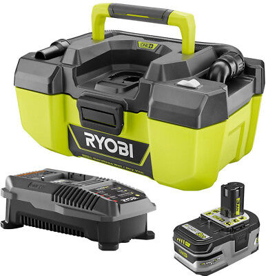 Ryobi 18-Volt ONE+ Lithium-Ion Cordless 3 Gal. Project Wet/D