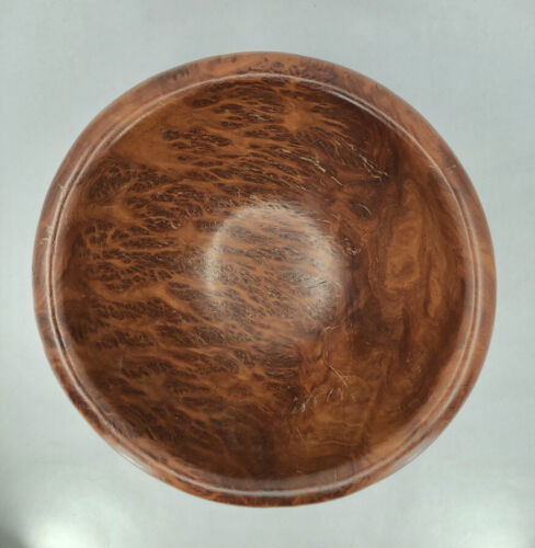 Hand Turned Eucalyptus Wood Bowl from Australia