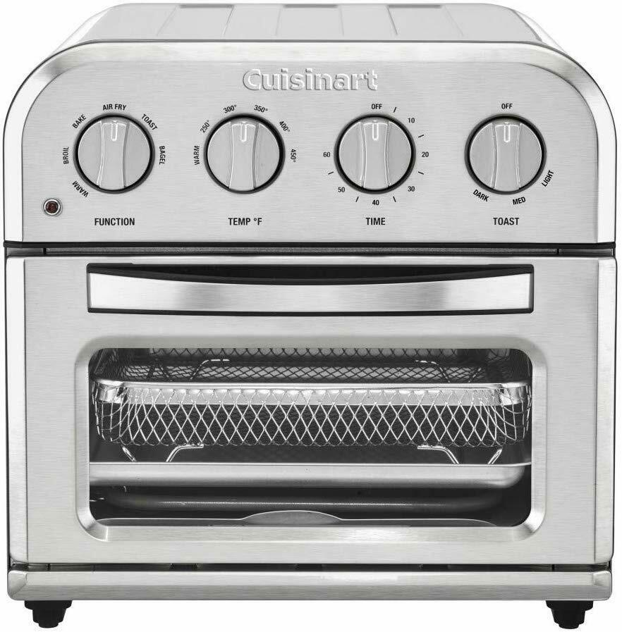 Cuisinart TOA-28 Compact Stainless Steel Air Fryer Toaster O