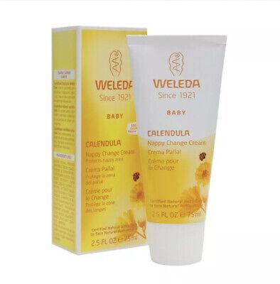 WELEDA CALENDULA NAPPY CHANGE CREAM 75ml. 2.5 FL OZ. Protects Nappy Area Nappy Change Cream