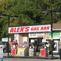 GAS STATION- BUSY GAS STATION FOR SALE OR LEASE