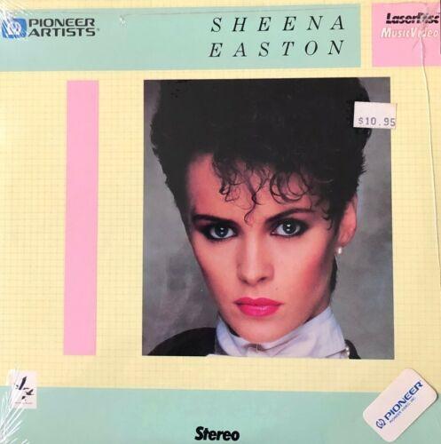 "SHEENA  EASTON - 8"" Laserdisc- MusicVideo-  SEALED NEVER, OPENED"