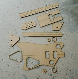 Guitar Template EBay - Guitar routing templates