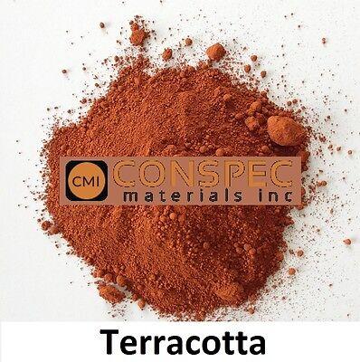 Terra Concrete - 5 lbs TERRACOTTA Concrete Color Pigment Cement Pavers Brick Stone Pottery Molds