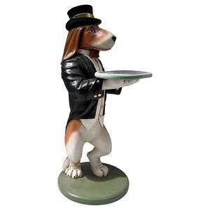 Butler-Statue-Beagle-Butler-Statue-Dog-Butler-Holding-a-Serving-Tray-3-ft