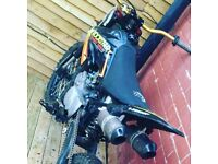 Custom Built 120cc Pit Bike - Size Of An 85 Crosser - Stomp Engine -