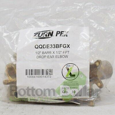 Zurn PEX QQBV44GX 10-Pack 1/2
