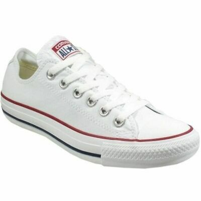 Converse All Star Chuck Taylor White Canvas Sneakers Shoes US WOMENS 10 EU 41.5
