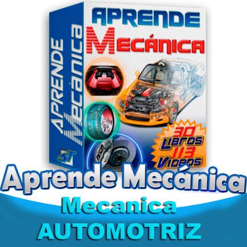 Curso Mecanica Automotriz 2021 24 libros Mas Videos