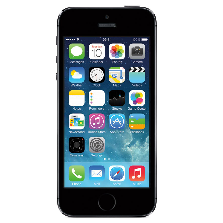 USED APPLE IPHONE 5S 16GB / 32GB / 64GB - / EE / O2 / VODA SMARTPHONE MOBILE