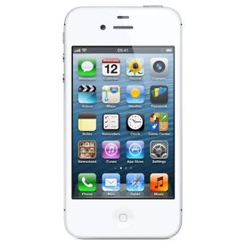 Apple IPhone 4S White on 02