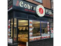 FULLY FURBISHED INDIAN TAKEAWAY FOR SALE IN THE HEART OF OLDHAM TOWN CENTRE