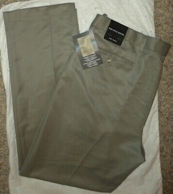SAKS FIFTH AVENUE Mens WRINKLE-FREE KHAKI SLACKS/DRESS PANTS~Size 38 x 30~NEW
