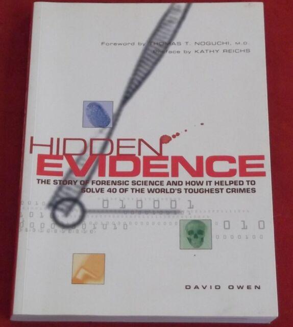 HIDDEN EVIDENCE ~ David Owen ~ FORENSIC EVIDENCE SOLVE TOUGHEST CRIMES
