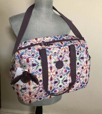 Kipling Popper Baby Bag In Vibrant Collage