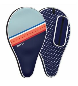 Duplex   Ping Pong Paddle Case - Best Table Tennis Paddle Cover for Blade Wit...