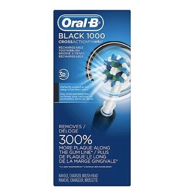 Oral-B - Pro 1000 Electric Toothbrush Black New Box