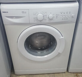 l325 white beko 6kg 1200 spin washing machine comes with warranty can be delivered or collected