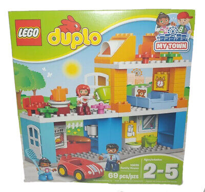 LEGO Duplo My Town Family House 10835 Building Block Toys for Toddlers - NEW