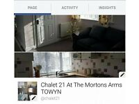 CHALET 21 @ The Morton Arms TOWYN