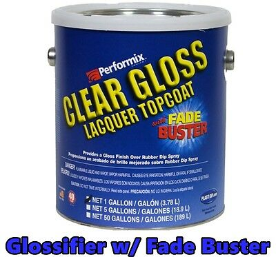 Glossifier 1 Gallon Ready To Spray Gloss Plasti Dip Rubber Dip Coating Sprayable