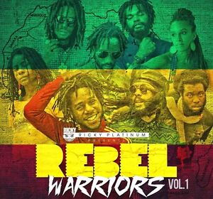 REBEL WARRIORS REGGAE ROOTS & CULTURE MIX CD 2014