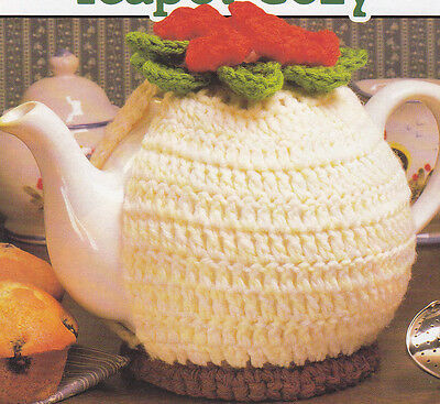 Crochet Pattern ~ FLORAL TEAPOT COZY ~ Instructions