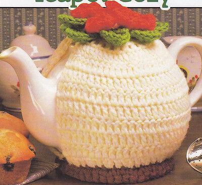 Crochet Pattern ~ FLORAL TEAPOT COZY ~ Instructions
