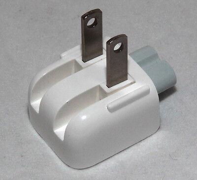 Genuine Apple Mac Ac Power Adapter Us Wall Plug Duck Head, Original For Usa