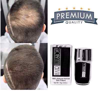 HAIR ILLUSION Hair Fibers for Hair Loss, Bald Spot, Hairline Enhancement - Brown for sale  Shipping to India