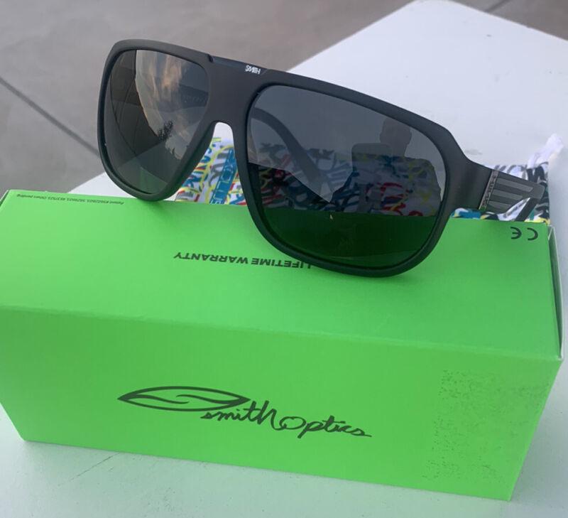 NEW Smith Polarized Sunglasses Gibson Les Guitar w/Grey Lenses