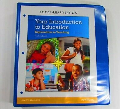 Your Introduction To Education Textbook Sara Davis Powell Loose Leaf In Binder for sale  Shipping to South Africa