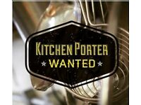 Kitchen Porter Required