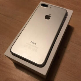 iPhone 7 plus 256gb unlocked and boxed still on warranty