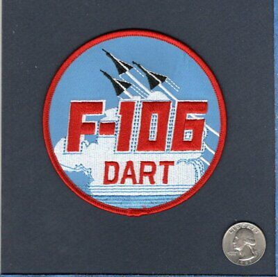 F-106 DELTA DART USAF FIS Fighter Interceptor Convair Squadron Jacket Patch for sale  Littleton