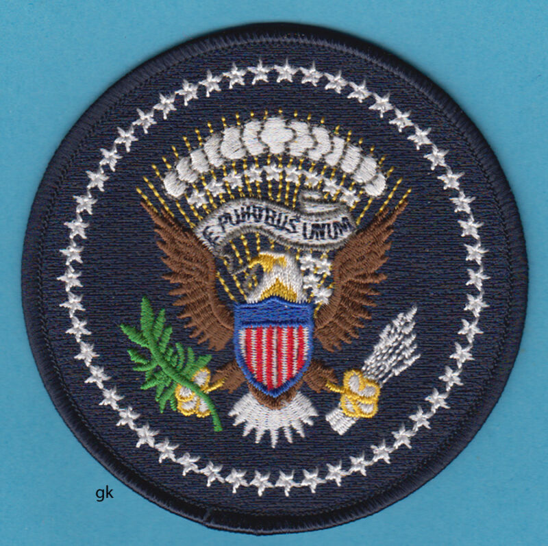 SEAL OF THE PRESIDENT  PRESIDENTIAL SHOULDER  PATCH ( USSS ERT)