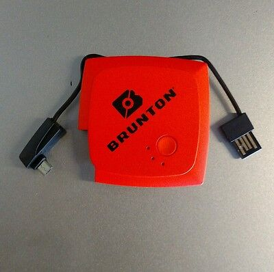 Brunton Pulse 1500 Portable Cell Phone and Device Charger (Orange)