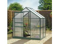 Greenhouse frame and base 6x4
