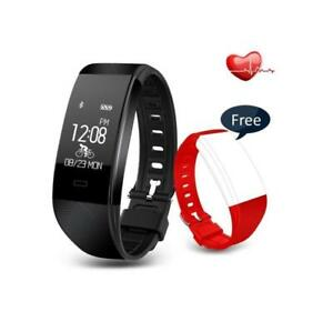 i2 Smart Watch Fitness Tracker with HR, BNIB, Shipping Available