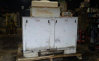 Boss Air 210 CFM Air Compressor Deere Diesel with vacuum and power washer