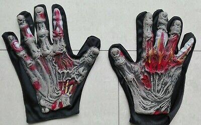 Zombie Monster Hände Klauen Handschuhe Halloween Kostüm Zubehör - Halloween Monster Händen