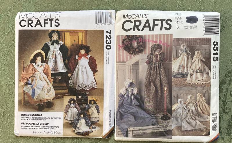 2 Uncut Vintage MCCall